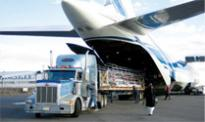 Transhipment of cargo to airport to ship and reverse